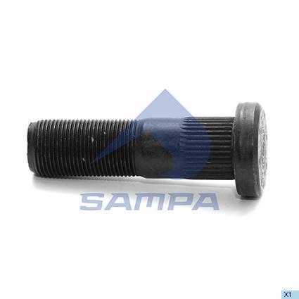 085.184   Болт М22х1,5х89 колеса ROR LC,LM (в-во SAMPA)