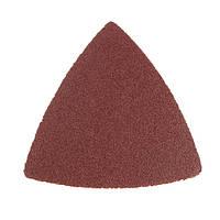 120 грит 80x80x80mm треугольная шлифовальная лист шлифовальная шкурка