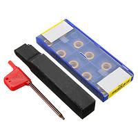 SRDCN1616H10 Токарный Переходя держатель инструмента с 10шт RCMT10T3M0 / RCMX1003M0 YBC251 твердосплавные пластины