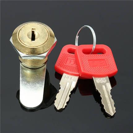 16мм Затвор файл двери шкафа письмо почтовый ящик ящик шкаф с 2 ключа, фото 2