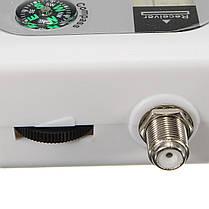 SF-9508 Цифровой измеритель сигнала спутниковый искатель сидел блюдо искатель DVB-T с компасом, фото 3