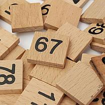 Монтессори математика материал ребенок учится деревянный educationa число от 1 до 100, фото 3