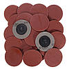 25 штук 2 Inch 180 Grit Roll Lock Sanding Discs R-Type Abrasive Tool, фото 6