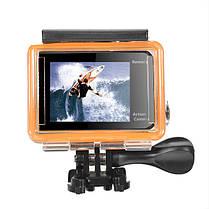 EKEN H8s 4K 30FPS FHD Ambarella A12S75 Широкоугольный 170 WiFi-экран с двумя цветными экранами, фото 2