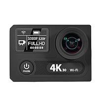 EKEN H8s 4K 30FPS FHD Ambarella A12S75 Широкоугольный 170 WiFi-экран с двумя цветными экранами, фото 3