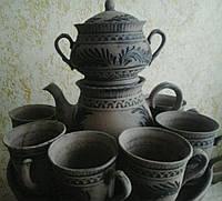Чайный набор Добрый с 4 чашками