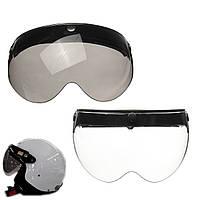 3 оснастке флип шлем козырек щит объектив универсальный для открытым лицом шлем мотоцикла
