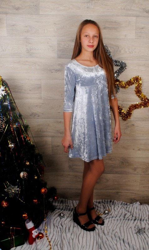 Детское нарядное платье на рост: 140-152 см