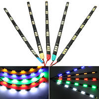 30см 12v 5050 автомобиль мотоцикл 15 LED бар полоса украшения свет работает решетка