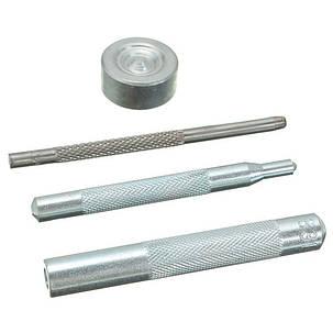 4шт металлические проушины установка перфоратор кнопка кожа ремесло поделок инструменты, фото 2