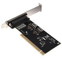 Разъемы для плат ввода / вывода параллельного порта DB25 25-контактный порт IEEE 1284 принтер адаптер платы контроллера
