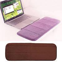 Запястье руки поднял остальные опорный вкладыш подушки памяти локоть охранник для MacBook клавиатуре компьютера