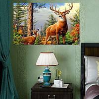Бескаркасных 5d алмазов картина лес олень поделки вышивка украшение дома