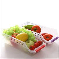 Холодильник Холодильник Ящик для хранения Коробка Полые фрукты Фрукты Овощи Напитки Кухня Органайзер