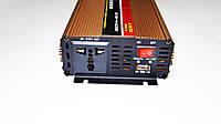 Инвертор преобразователь напряжения Power Inverter Powerone 1300W с функцией зарядки, фото 3