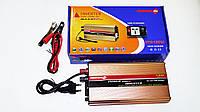 Инвертор преобразователь напряжения Power Inverter Powerone 1300W с функцией зарядки, фото 5