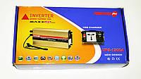 Инвертор преобразователь напряжения Power Inverter Powerone 1300W с функцией зарядки, фото 6