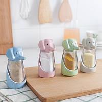 Пшеничной соломы слон творческой кухонных принадлежностей для барбекю приправы банки перец приправа коробка