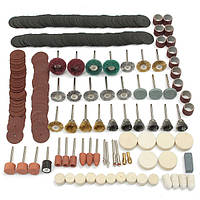 347 штук Rotary Инструмент Аксессуары для Дремель шлифовальная шлифовальная полировка Инструмент