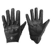 Открытый кожаные перчатки Защитная броня для мотоцикла велогонки езда