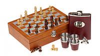 Шахматы - джентльменский набор большой №4