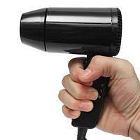 Складная 12v 216w волосы удар сушилки Вентиляторный воздухонагреватель горячий & холодный ветер carvan путешествия кемпинга