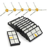 15pcs боковые щетки HEPA фильтры набор для Irobot Roomba 800 900 870 880 980