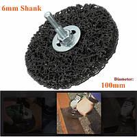 100мм ржавчины и удаление краски polycarbide абразивной зачистки диска 6 мм хвостовик колесо