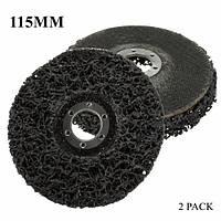 2 шт 115 мм ржавчины краска для удаления абразива поли диск колесо для 4.5 дюйма угловая шлифовальная машина