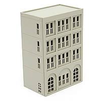 Модели железных дорог современный 4-этажное офисное здание неокрашенными в масштабе 1:160 л для Gundam