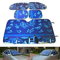 Алюминиевая фольга Складная отражательная Авто Защита от солнечных лучей Солнцезащитная защита