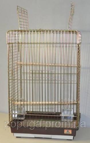 Клетка для крупных попугаев, 50х40х80 см