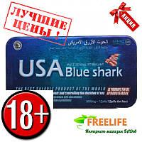 «USA Blue shark» (Голубая акула) капсулы новинка, Препарат для потенции в Украине