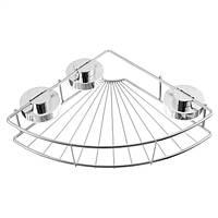 Нержавеющая сталь штатив стены присоска стеллаж для хранения угловая полка сортировки корзины