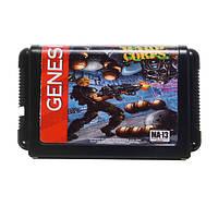 Contra Hard Corps Game Cartridge Новейшая 16-битная игровая карта для Sega MegaDrive Genesis NTSC