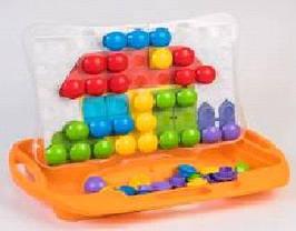 """Розвиваюча іграшка """"Моя перша мозаїка"""" 39370( Ч )"""