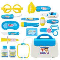 Голубые дети доктор медсестра игрушки дети делают вид играть случай ребенка подарочный набор набор