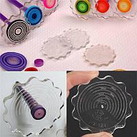 Бумага рюш бумага моталки ремесло поделки инструмент слой доски цветок форма ручной работы