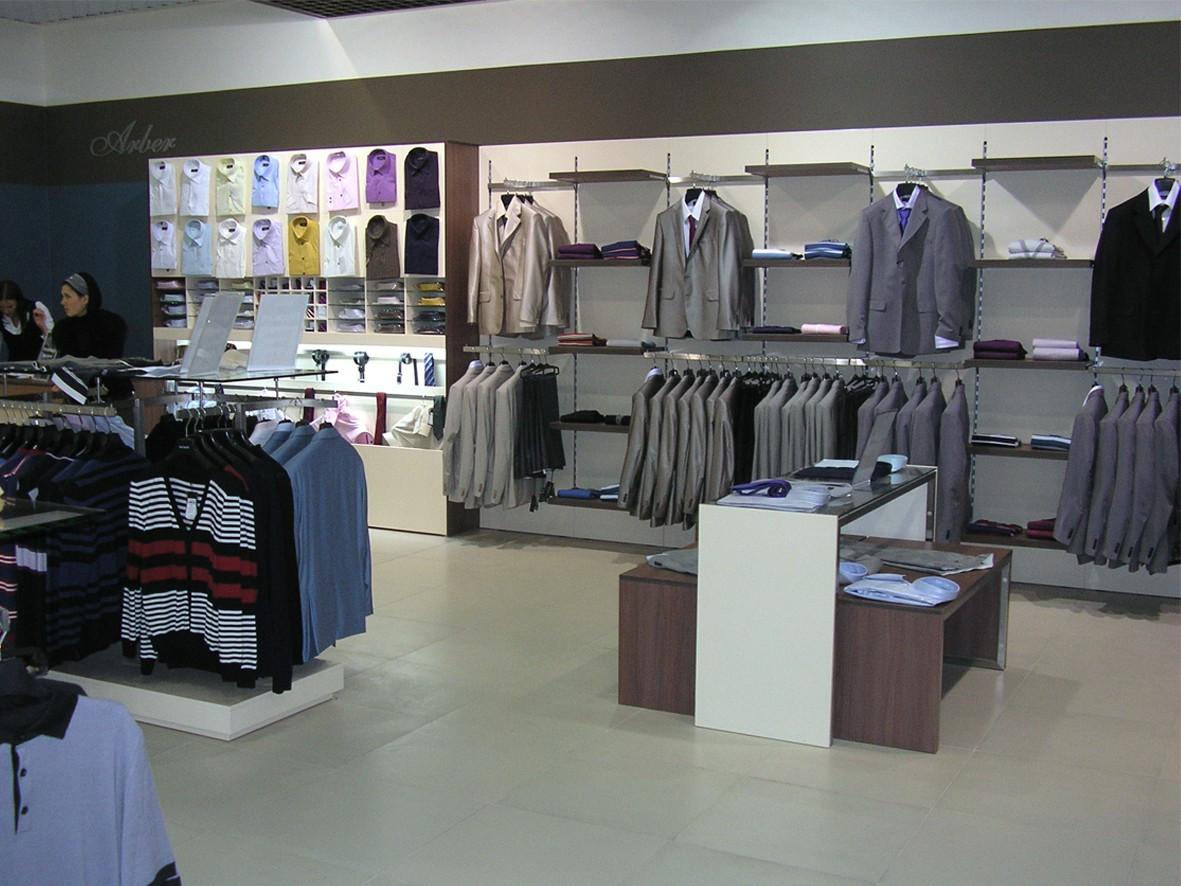 изготовление Торгового оборудования для мужской одежды