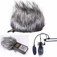 Микрофон муфты меха лобовое стекло для sony d50 зум H1 HD рекордер Q3 Q3h2n h4n