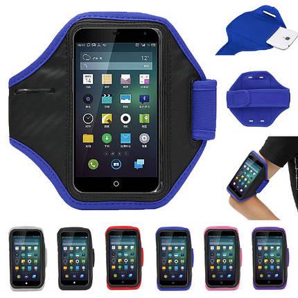 Спорт работает бег трусцой регулируемые ключи повязку мешок руки для телефона под 5.1 дюйма, фото 2