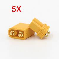5X Amass XT30UPB XT30 УПБ разъем 2 мм Мужской Женский штепсельные разъемы для печатных плат