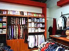 изготовление Торгового оборудования для мужской одежды , фото 3