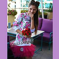 Нарядное подростковое платье Happy