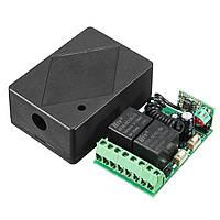 Беспроводное реле ВЧ приемник дистанционного управления независимый вывод 10A 12 В постоянного тока 315MHz 2ch