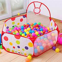 80x90x56mm портативный мяч съемки палатка с корзиной детей на открытом воздухе в помещении игра палатки