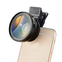 Zomei 0.45x широкий угол и макро-объектив камеры для iPhone Samsung Android-смартфон Xiaomi Huawei HTC