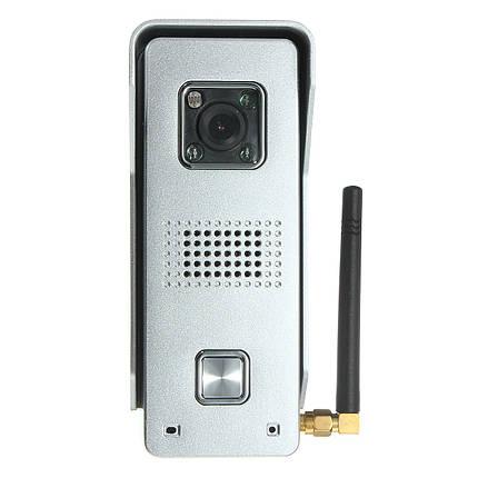 Супер водонепроницаемый WiFi видео домофон домофон дверной звонок глазок камеры дистанционного разблокировки рIR IR ночного видения тревоги, фото 2
