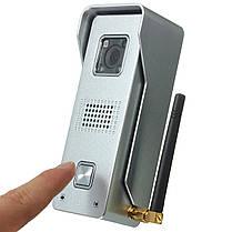 Супер водонепроницаемый WiFi видео домофон домофон дверной звонок глазок камеры дистанционного разблокировки рIR IR ночного видения тревоги, фото 3