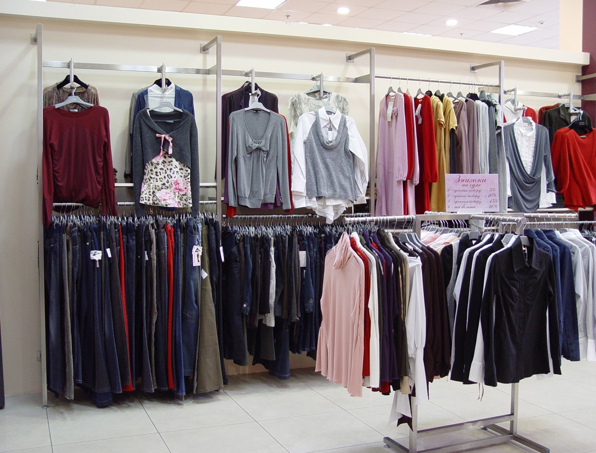 изготовление Торгового оборудования для женской одежды